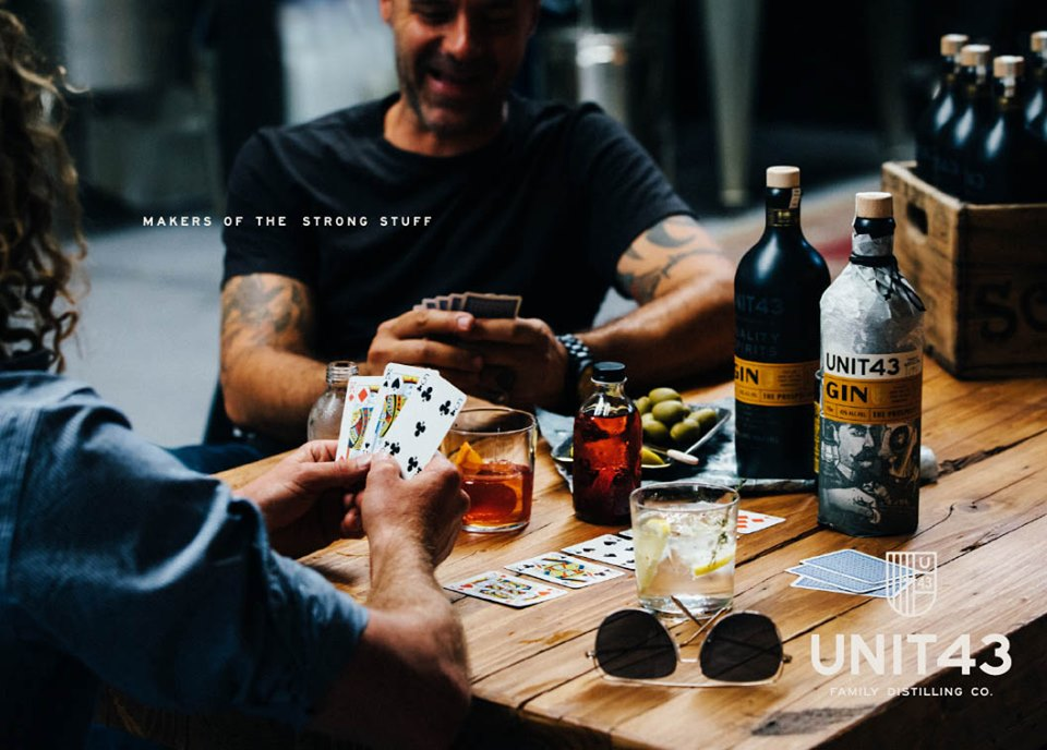 sebsmith trading Unit 43 Family Distilling Co makers of the strong stuff